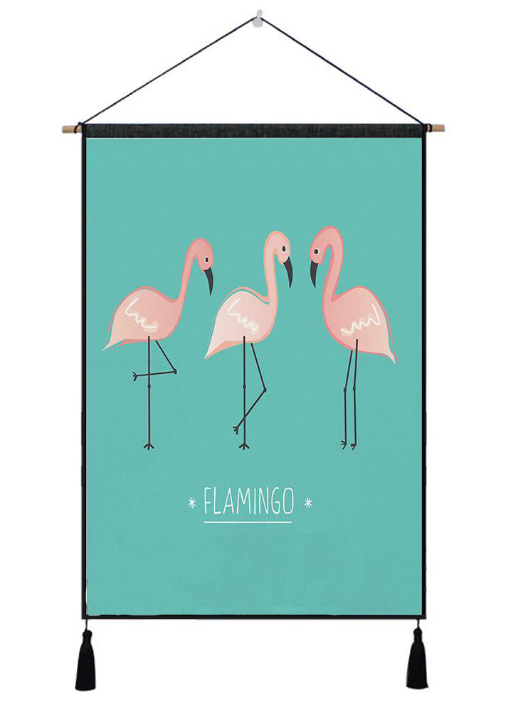 Flamingo Tapestry Wall Art Tapestry Tropical Home Decor Door Curtain Living Room Bedspread Bedspread Tablecloth Tapestry Rug