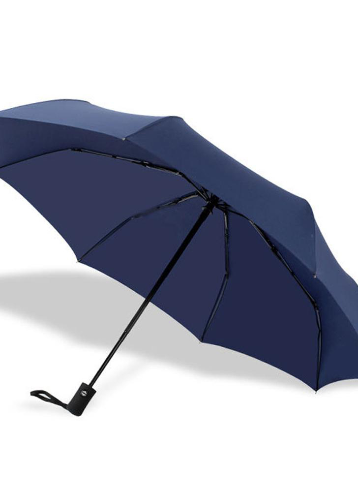 A fine automatic tri-folding umbrella for men and women gifts business folding umbrella