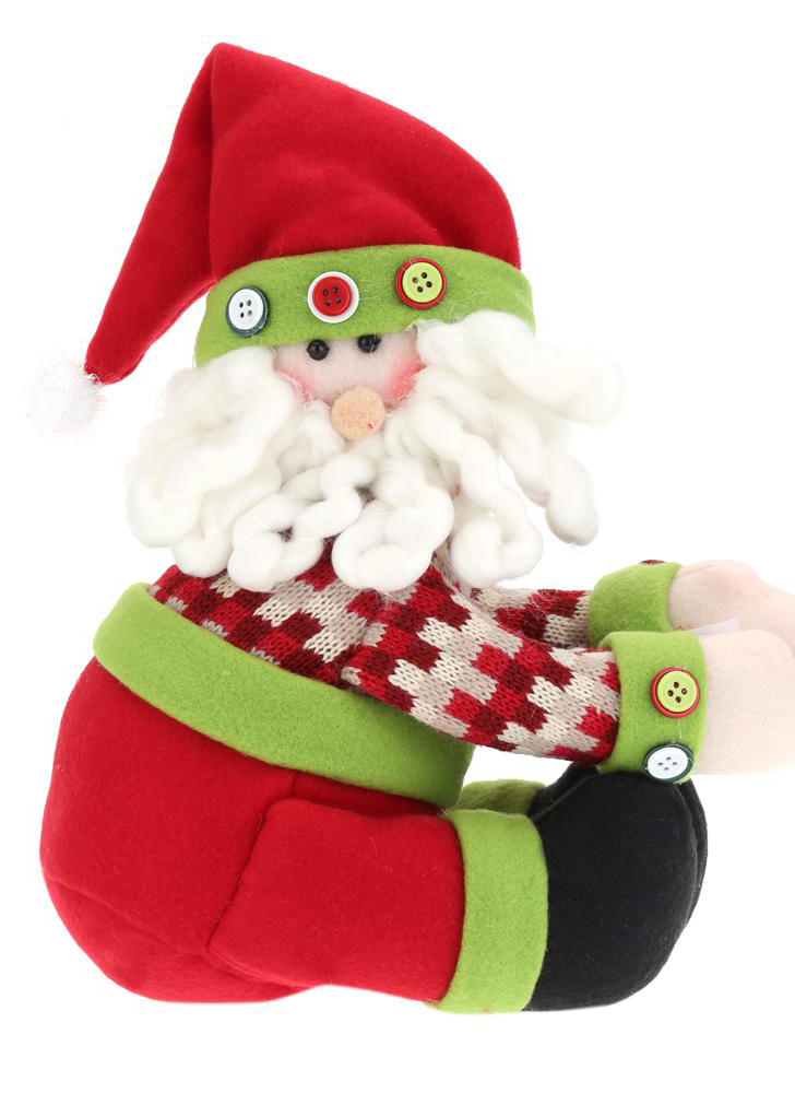 Hot Selling Cute Ornaments Wine Bottle Cover Doll Wine Bottle Decoration Christmas Santa Cover Ornaments